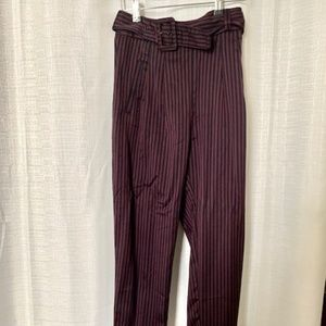 Cartonnier by Anthropologie Pinstripe Trousers